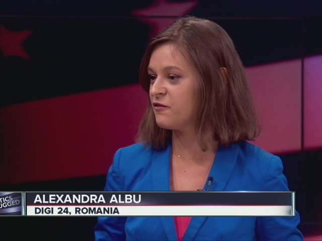 Romanian journalist talks about the world's take on the U.S. election