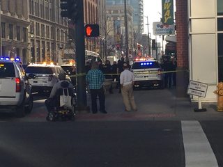 1 dead, another wounded in downtown shooting
