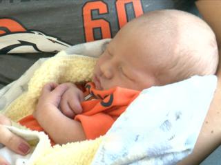 Broncos Super Bowl babies arrive