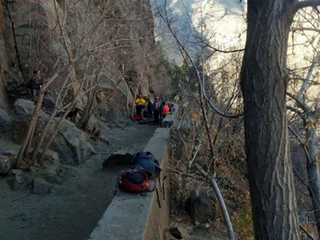 Rock climber seriously injured after 80 ft. fall