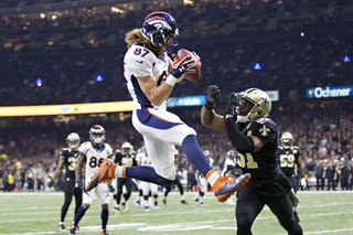 Broncos trounce Saints; 5 plays of the game