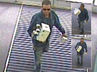 Man buys security system with stolen card
