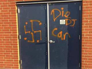 Denver elementary school defaced with swastika