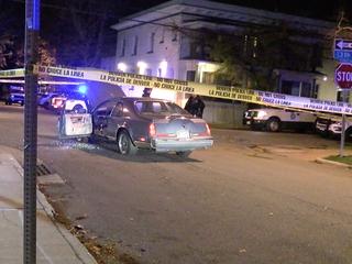 Police investigate strange scene as a homicide