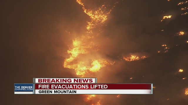 Cause of Green Mountain fire near Denver under investigation