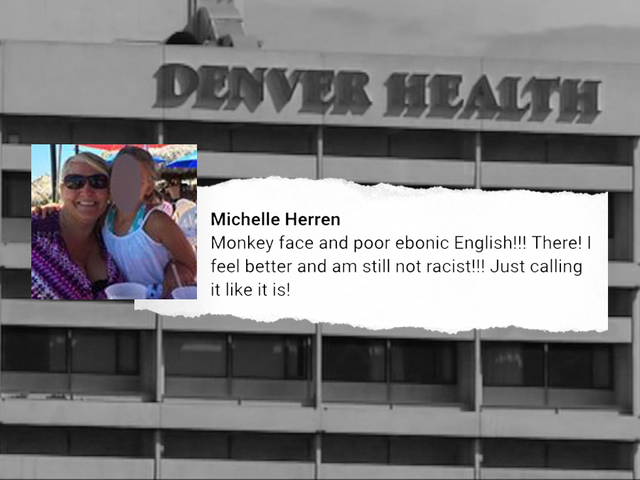 Doctor's job on the line after racist post