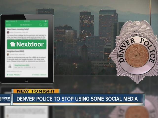 Denver Police to stop using using Nextdoor, limit Facebook