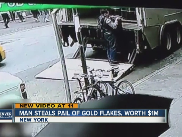 Man steals pot of gold, disappears from NYC