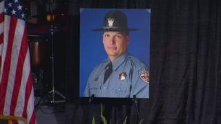 Tribute to fallen CSP trooper Cody Donahue