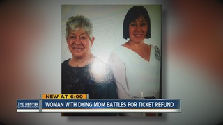 Woman frustrated over ticket refund dispute