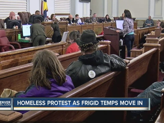 Homeless, advocates call for end to sweeps at Denver City Council; city…