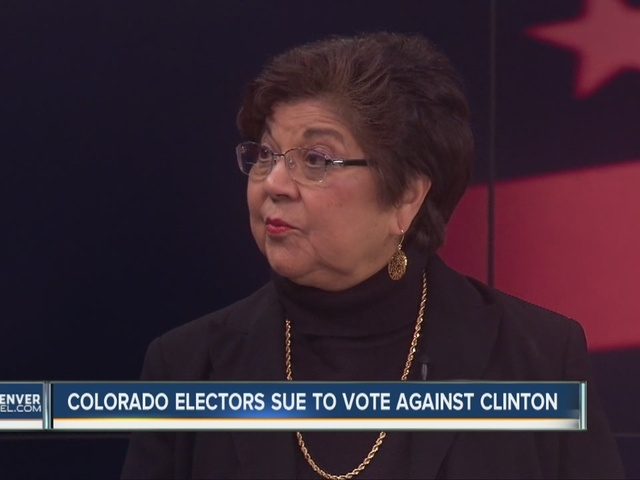 2 Colorado electors file suit in hopes of not voting for Clinton as…