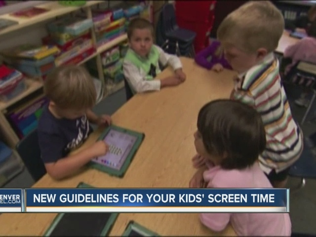 New Guidelines For Your Kids Screen Time