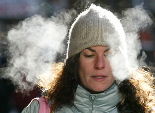 Frigid temps are coldest in more than year