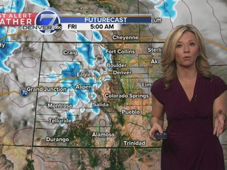 Slowly warming up across Colorado