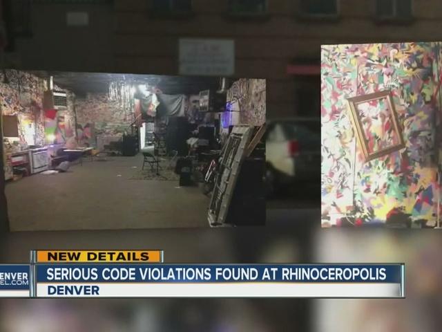 Serious code violations found at Rhinoceropolis