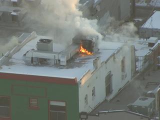 Fire damages Pasquini's Pizzeria in Denver