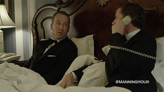 Peyton Manning 'embarrassing' the family in skit