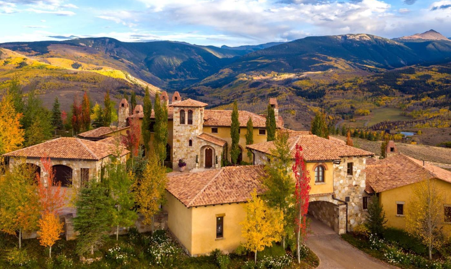 Extreme homes of colorado vail valley mountain top home for Secluded mountain homes for sale