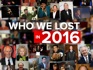 Notable people we lost in 2016