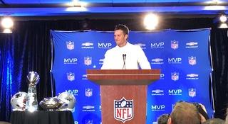 All Broncos have to do is, um, slow Tom Brady