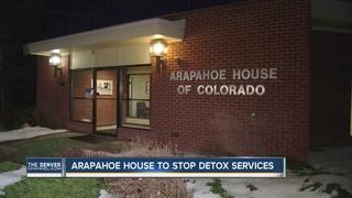 Arapahoe House to end detox services next June