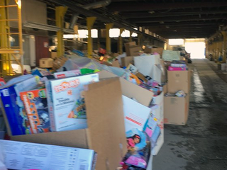Denver Toys for Tots 'swamped with toys'