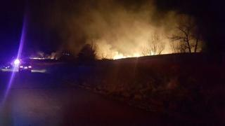 Grass fire burns 17 acres in Boulder County