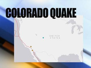 Small earthquake hits Colorado
