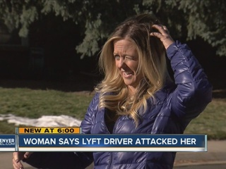 Woman claims Lyft driver punched; kicked her