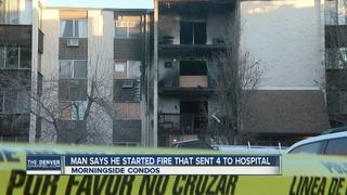 Denver condo fire forces dozens from homes