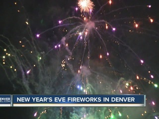 Thousands ring in New Year on 16th Street Mall