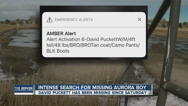 Amber Alert issued for 6-year-old Aurora boy