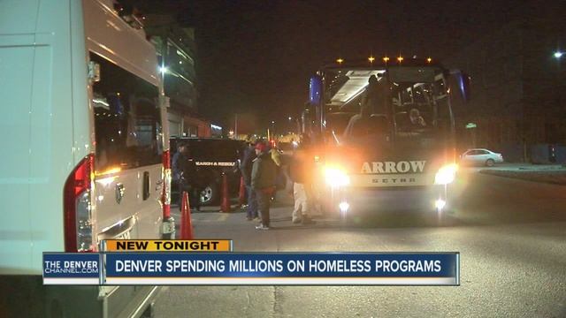 The Denver City Council On Tuesday Approved Funds For Bus Services That Will Transport The City S Homeless Population To An Overflow Shelter Due To A Lack