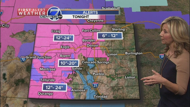 Light flurries in Denver Tuesday with colder temperatures, snow on the way