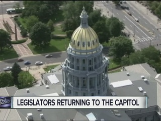 Lawmakers returning for new legislative session