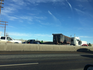 WB I-70 open after removal of jackknifed semi