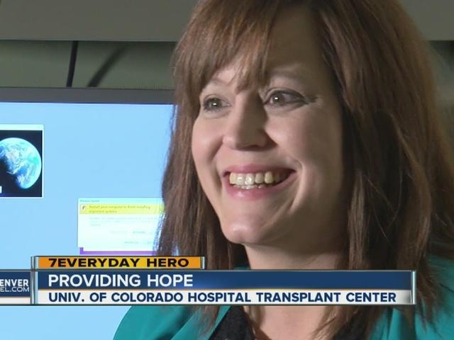 ACHS Volunteer Named 7Everyday Hero – Aurora Public Schools