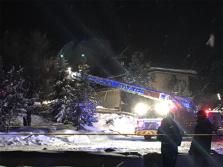 No injuries after roof collapse in Breckenridge