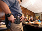 First hurdle cleared for concealed-carry bill