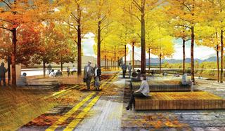 Riverfront promenade proposed in RiNo
