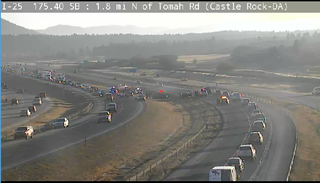 CSP: 1 killed, 1 hurt in rollover crash on I-25