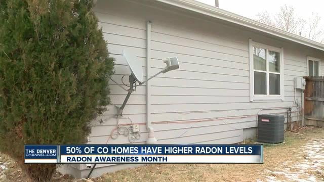 Radon levels high in Colorado homes