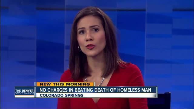Beating death of Colorado Springs homeless man ruled self-defense