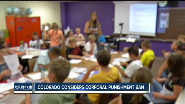 Colorado considers corporal punishment ban