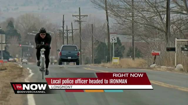 Longmont police officer headed to IRONMAN