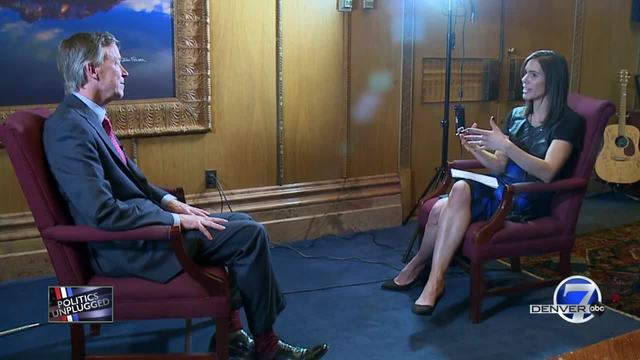 Politics Unplugged - Interview with the Gov- Hickenlooper
