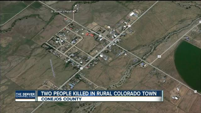 4 shot- 2 killed in rural- Southern Colo- town