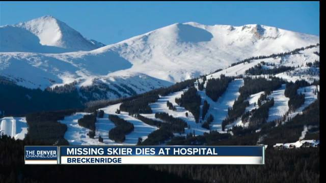 Man dies after going missing at Breckenridge