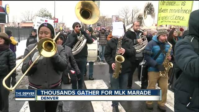Denver celebrates Martin Luther King- Jr--s legacy with annual -marade-